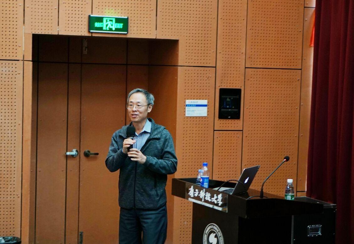 """美国国立卫生研究院赵可吉研究员作了题为""""细胞异质性的表观遗传机制""""的精彩报告"""